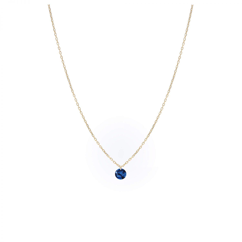 Collier Ce Rêve bleu Saphire x Persée