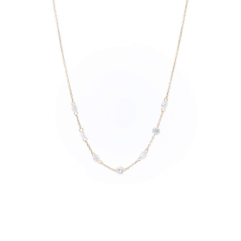 Collier Danaé 7 diamants persés x Persée