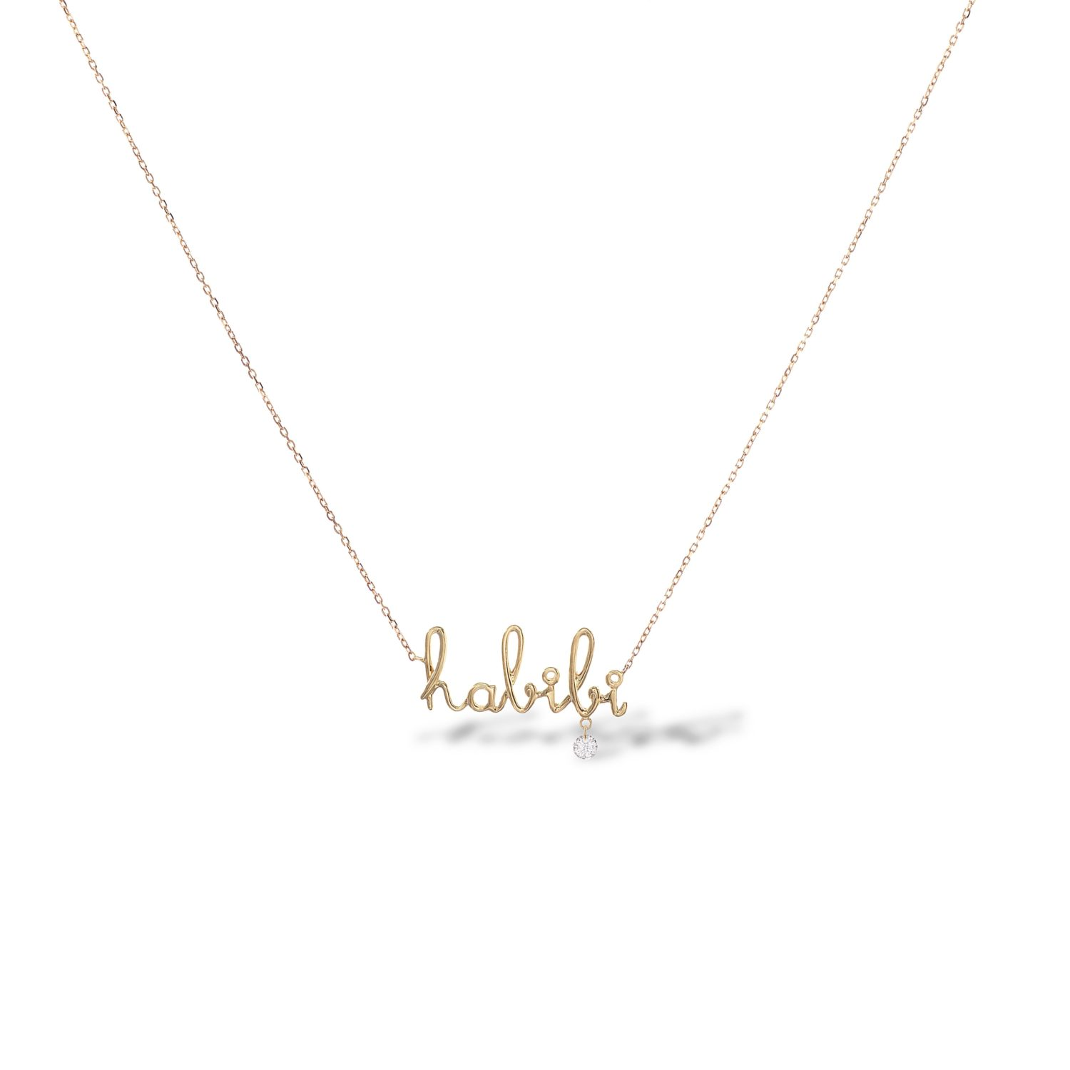 Habibi Necklace diamant Persee