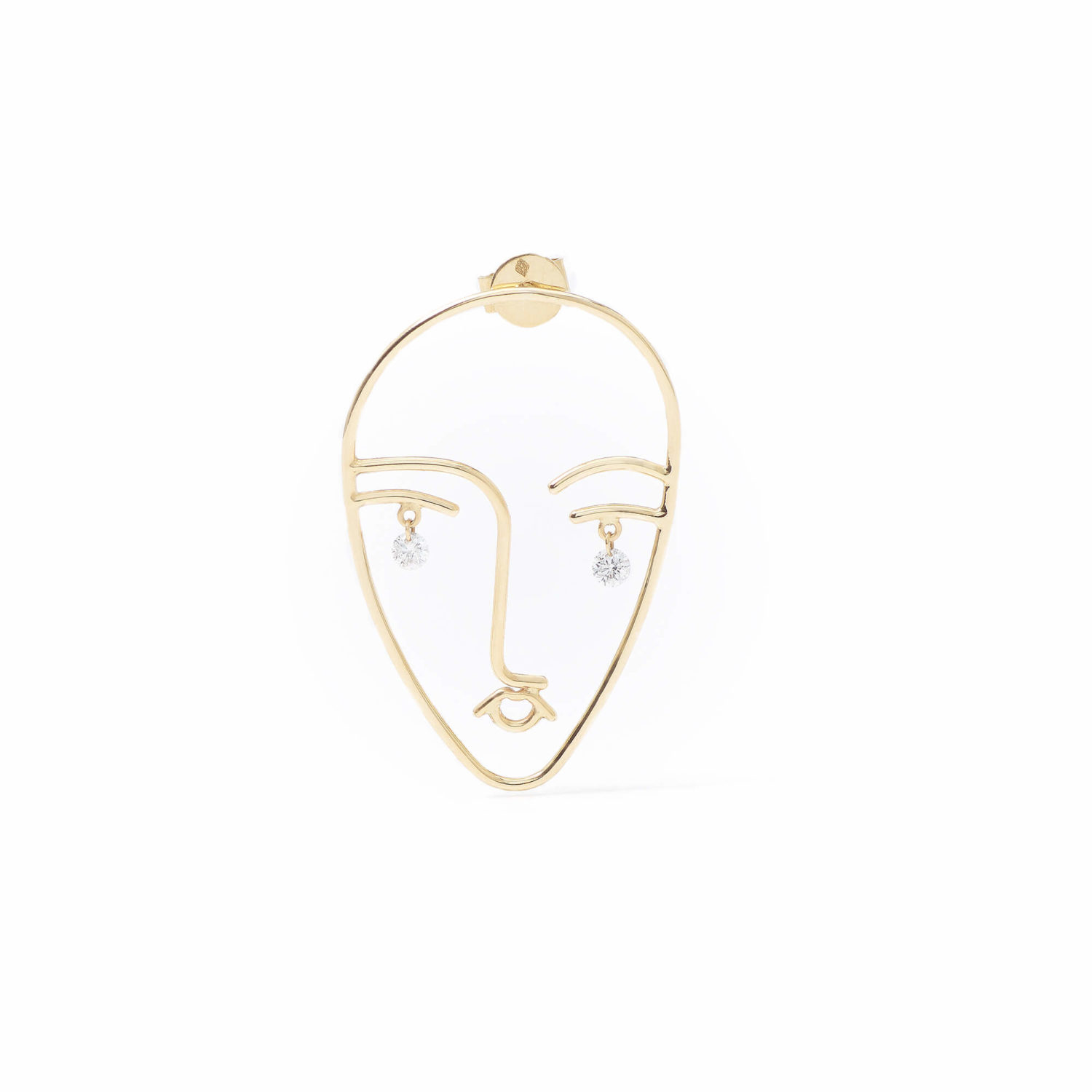 BOUCLE D'OREILLE MATISSE PERSEE