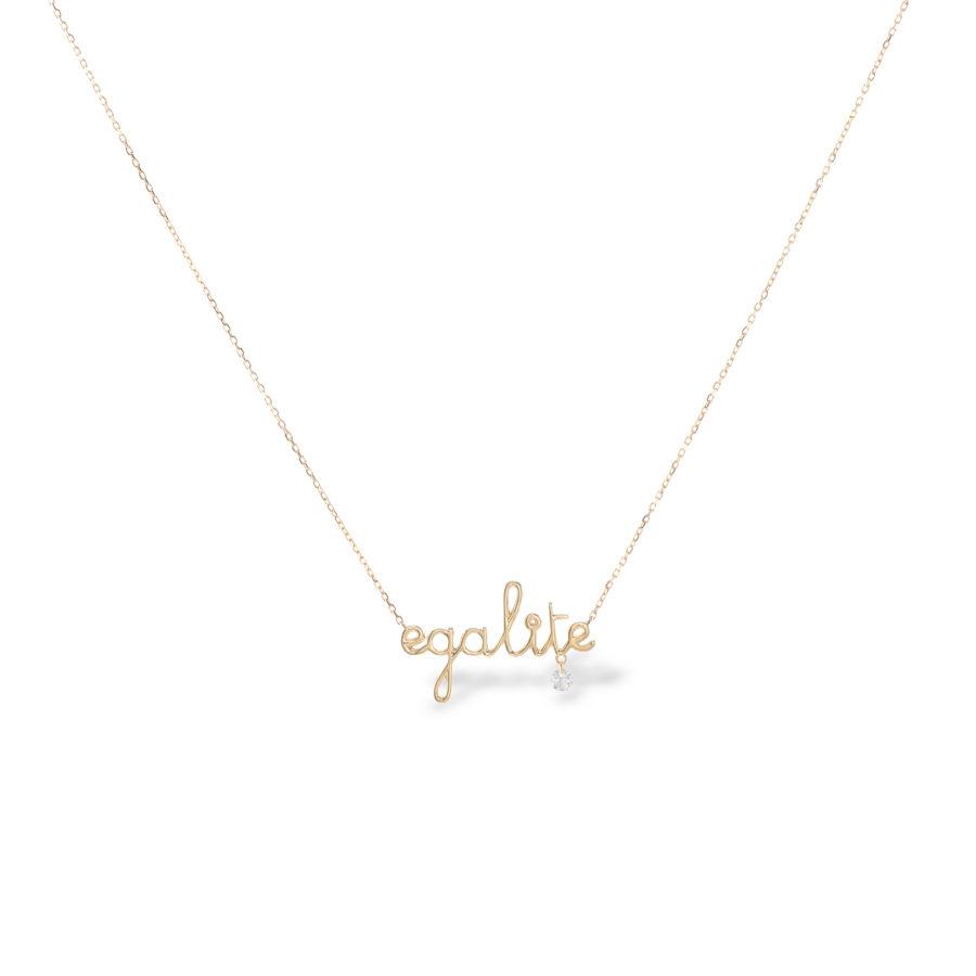 Collier egalite et diamant Persée