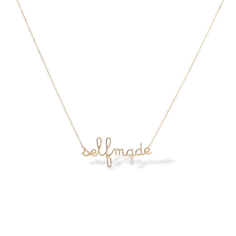 Collier selfmade et diamant Persée