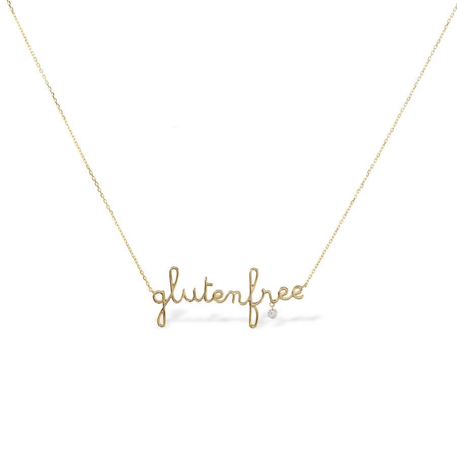 Collier Glutenfree et diamant Persée