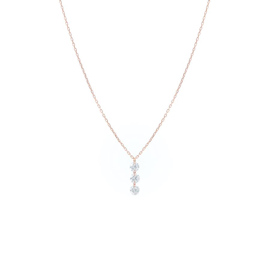 Collier diamant diamond or gold