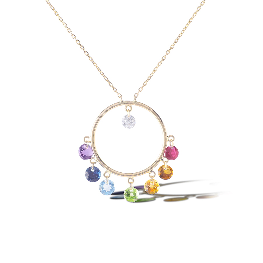 CHAKRAS-NECKLACE-PERSEE PARIS