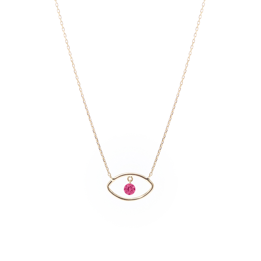 Collier Eye Rubis Persée Paris