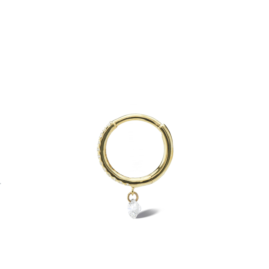 Piercing Danaé pavé diamant
