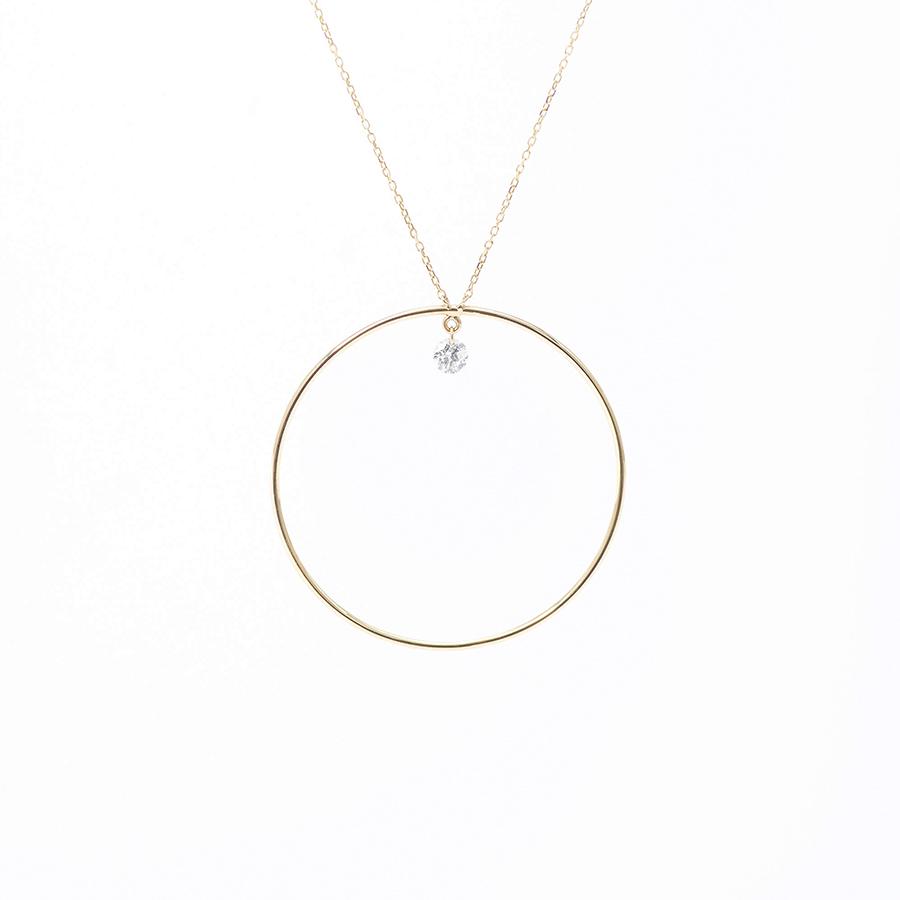 Comic stripe diamant collier Persée